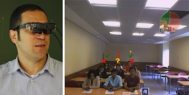 New application for augmented reality glasses