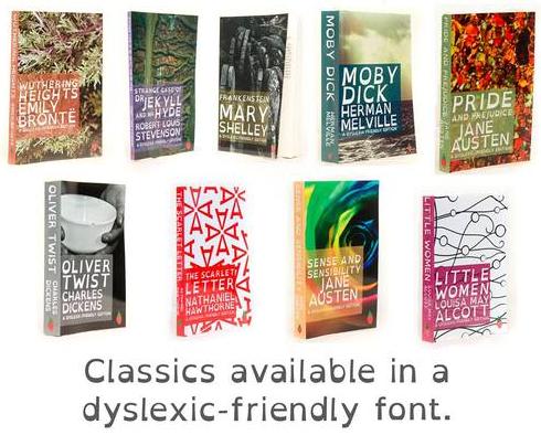 Classics in Open Dyslexic