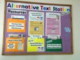 Alternative Text Station