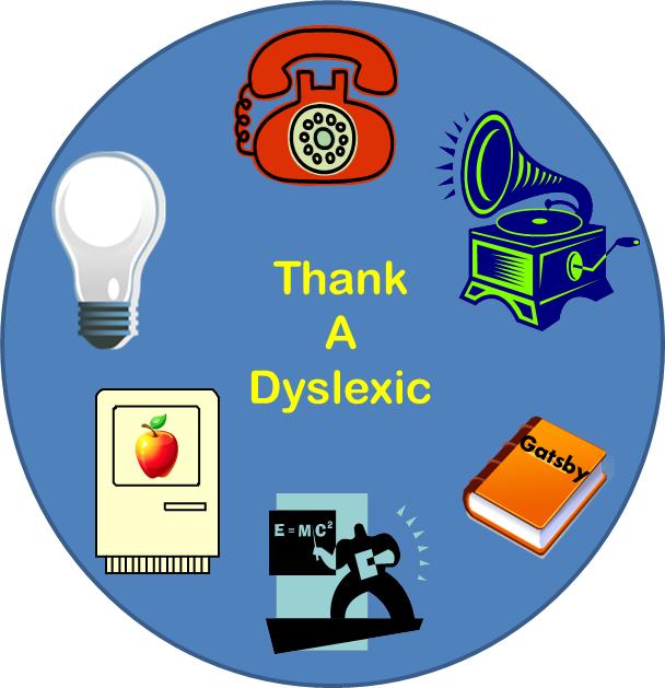 Thank a dyslexic!