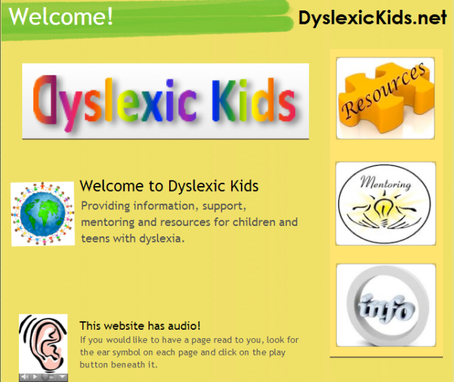 Dyslexic Kids Support Organization for Children and Teens
