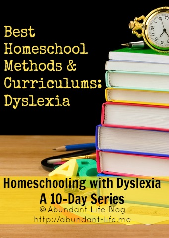Homeschool curriculum for students with dyslexia