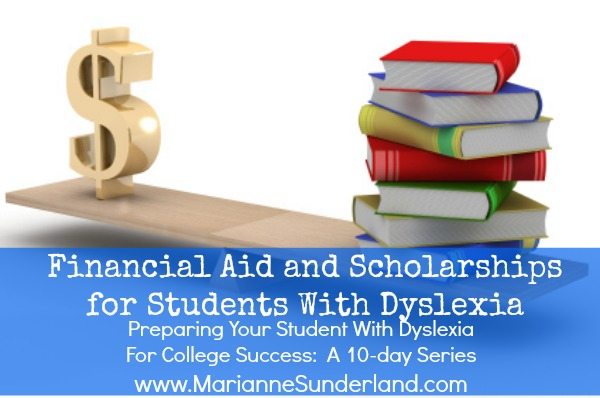 Scholarships for dyslexic students