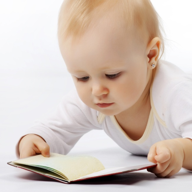 Do not try to teach your baby to read